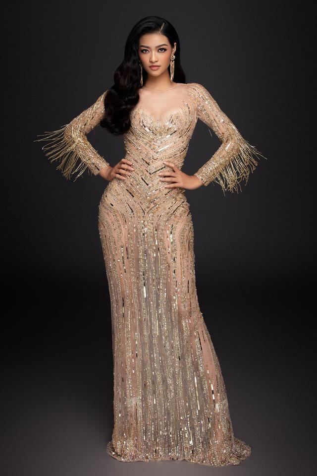 Liên tiếp lọt top cao, Kiều Loan khoe bộ đầm thi Chung kết Miss Grand International 2019 - Ảnh 9.