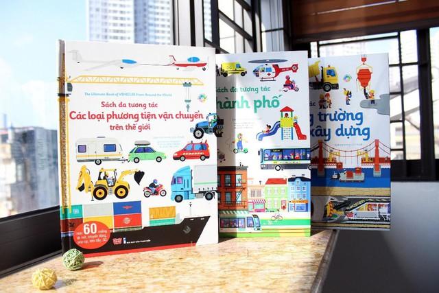 Sách đa tương tác giúp kích thích phát triển đa giác quan ở trẻ - Ảnh 1.