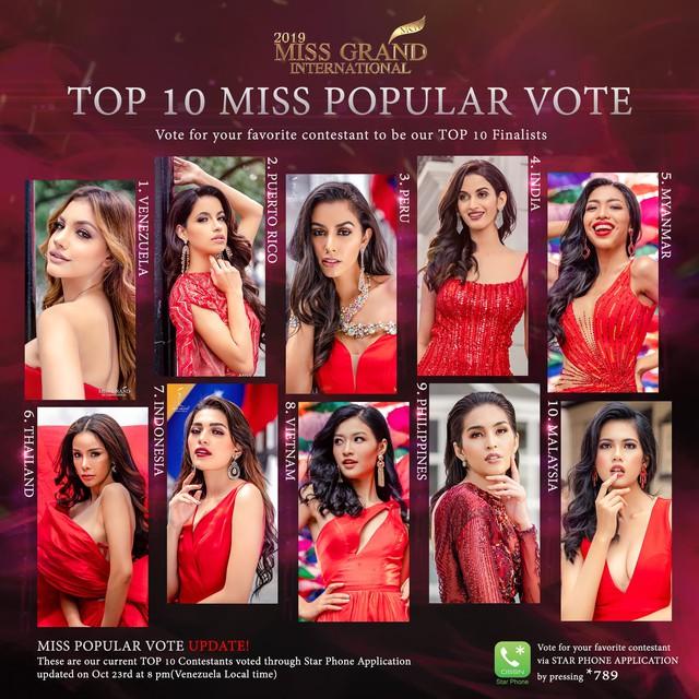 Liên tiếp lọt top cao, Kiều Loan khoe bộ đầm thi Chung kết Miss Grand International 2019 - Ảnh 1.