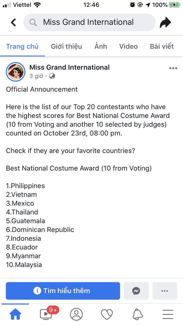 Liên tiếp lọt top cao, Kiều Loan khoe bộ đầm thi Chung kết Miss Grand International 2019 - Ảnh 2.