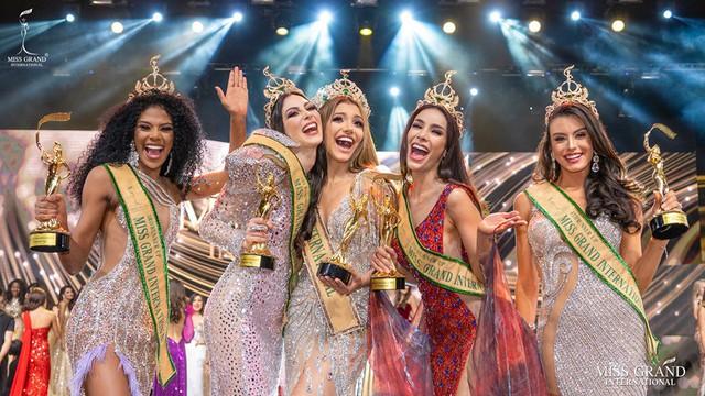 Người đẹp Venezuela đăng quang Hoa hậu Hòa bình thế giới 2019 - Ảnh 4.