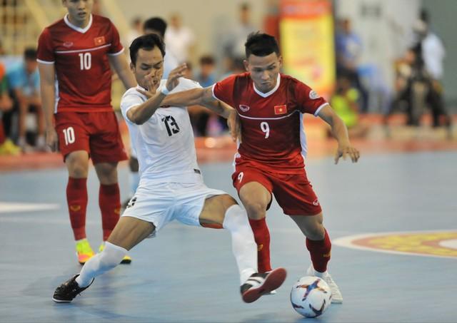ĐT futsal Việt Nam giành quyền dự VCK châu Á, HLV Rodrigo mơ về Futsal World Cup - Ảnh 2.