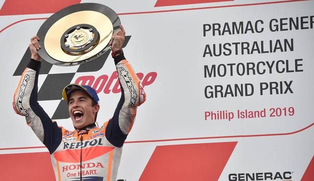 Marc Marquez giành chiến thắng tại GP Australia - Ảnh 1.