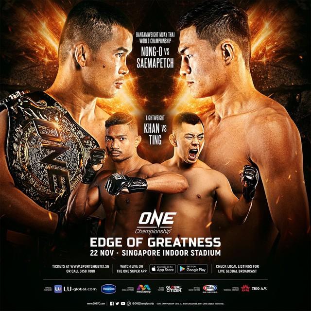 Nguyễn Trần Duy Nhất tái xuất tại One: Edge Of Greatness - Ảnh 1.