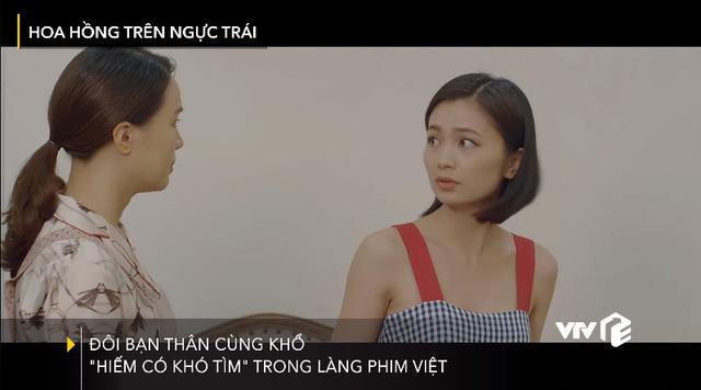 Khuê (Hồng Diễm) - San (Diệu Hương): Đôi bạn thân cùng khổ của làng phim Việt - Ảnh 1.