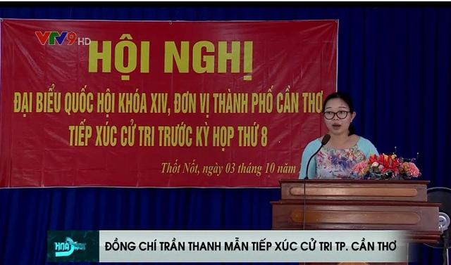 Đồng chí Trần Thanh Mẫn tiếp xúc cử tri TP Cần Thơ - Ảnh 1.