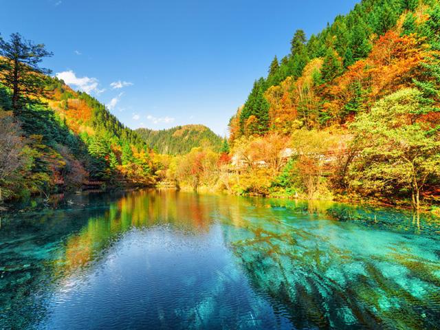 Xốn xang trước vẻ đẹp rực rỡ của mùa thu trên thế giới - Ảnh 8.