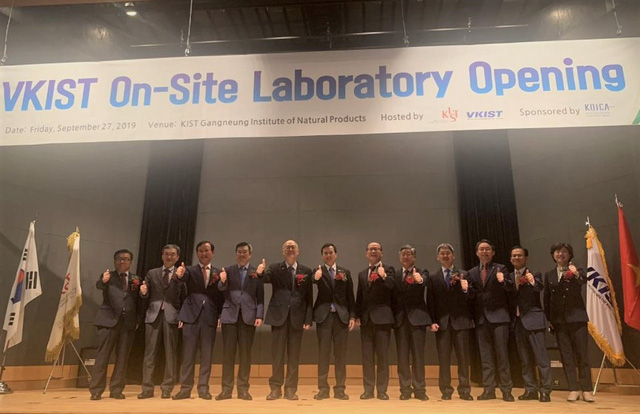 Khai trương phòng thí nghiệm về lĩnh vực sinh học tại Hàn Quốc - Ảnh 2.