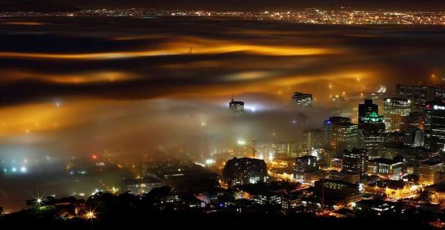 Vẻ đẹp của các thành phố trên thế giới khi chìm trong sương sớm - ảnh 15