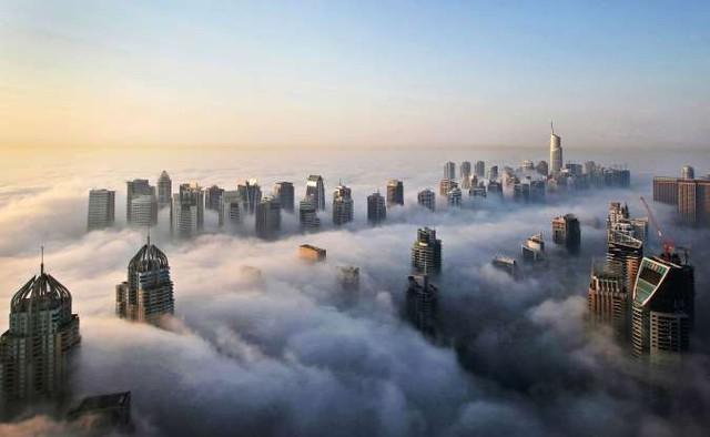 Vẻ đẹp của các thành phố trên thế giới khi chìm trong sương sớm - ảnh 8