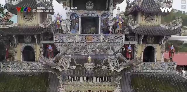 Độc đáo ngôi chùa khảm sành của Đà Lạt - Ảnh 1.