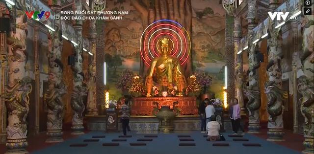Độc đáo ngôi chùa khảm sành của Đà Lạt - Ảnh 2.