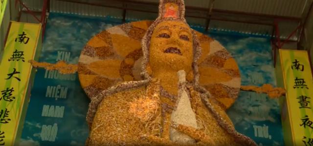 Độc đáo ngôi chùa khảm sành của Đà Lạt - Ảnh 4.