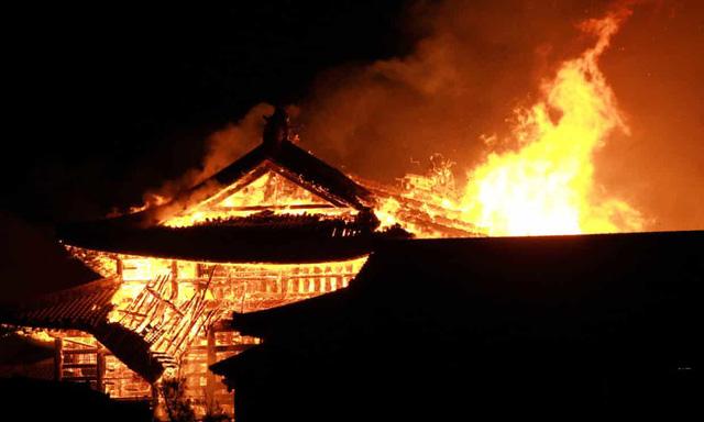 Cháy lớn tại lâu đài cổ Shuri của Nhật Bản - Ảnh 2.