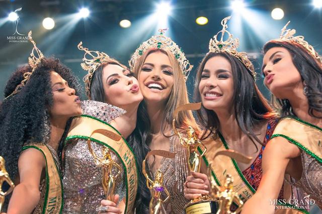 Người đẹp Venezuela đăng quang Hoa hậu Hòa bình thế giới 2019 - Ảnh 5.