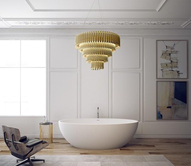 Mẫu bồn tắm đẹp sang trọng, hiện đại - Ảnh 1.