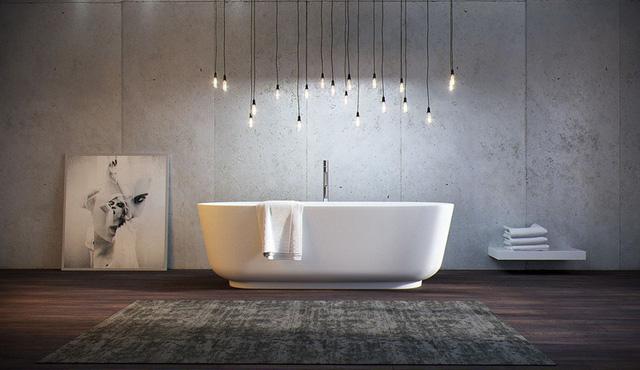 Mẫu bồn tắm đẹp sang trọng, hiện đại - Ảnh 2.