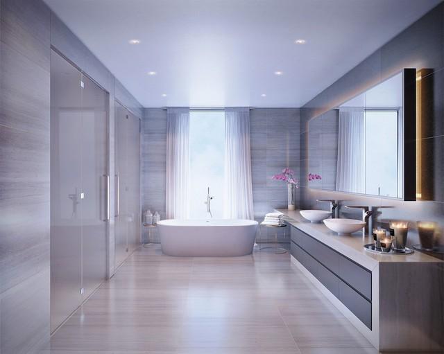 Mẫu bồn tắm đẹp sang trọng, hiện đại - Ảnh 11.