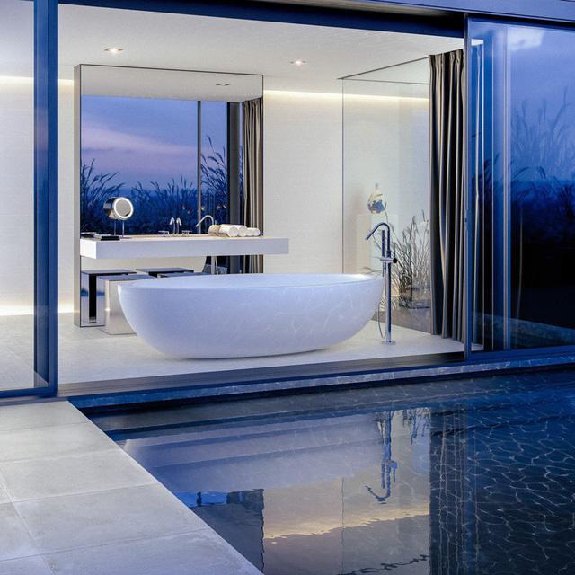 Mẫu bồn tắm đẹp sang trọng, hiện đại - Ảnh 13.