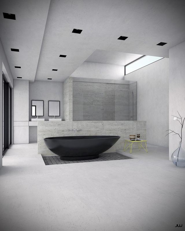 Mẫu bồn tắm đẹp sang trọng, hiện đại - Ảnh 3.
