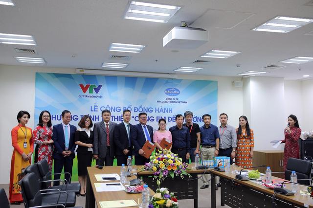 Quỹ Tấm lòng Việt và Macca Nutrition Việt Nam chung tay hỗ trợ học sinh nghèo hiếu học - Ảnh 1.