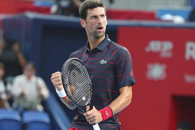 Novak Djokovic vô địch giải quần vợt Nhật Bản mở rộng 2019 - Ảnh 2.