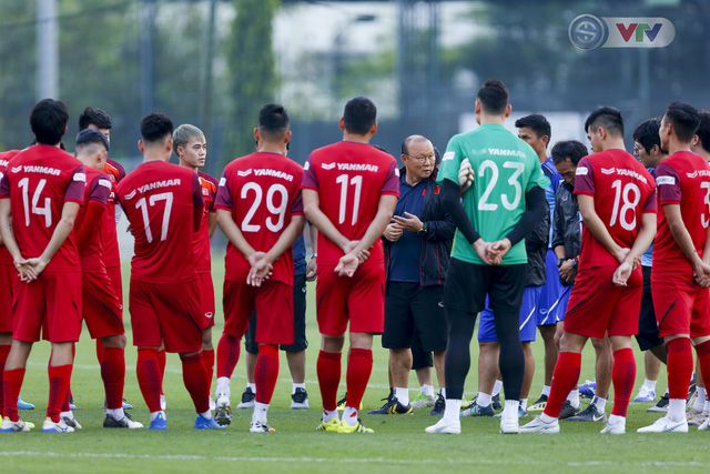 ĐT Việt Nam tích cực tập luyện, sẵn sàng tiếp đón ĐT Malaysia - Ảnh 3.