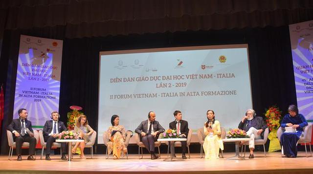 Đại diện 40 trường đại học tham dự Diễn đàn giáo dục đại học Việt Nam - Italy - Ảnh 1.