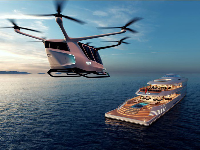 Ra mắt siêu du thuyền chạy bằng hydro đầu tiên trên thế giới - Ảnh 3.