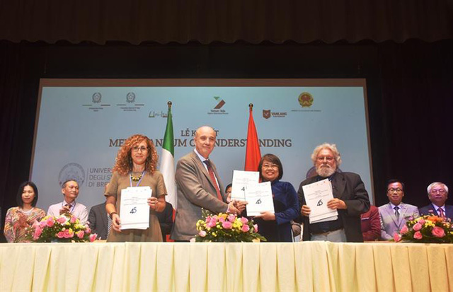 Đại diện 40 trường đại học tham dự Diễn đàn giáo dục đại học Việt Nam - Italy - Ảnh 4.