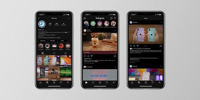 Người dùng iOS 13 đã có thể sử dụng Instagram ở chế độ Dark Mode - Ảnh 1.