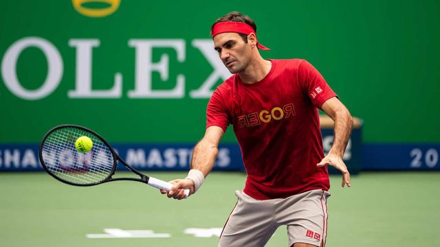Vượt qua Ramos-Vinolas, Roger Federer hẹn David Goffin tại vòng 3 Thượng Hải Masters 2019 - Ảnh 3.