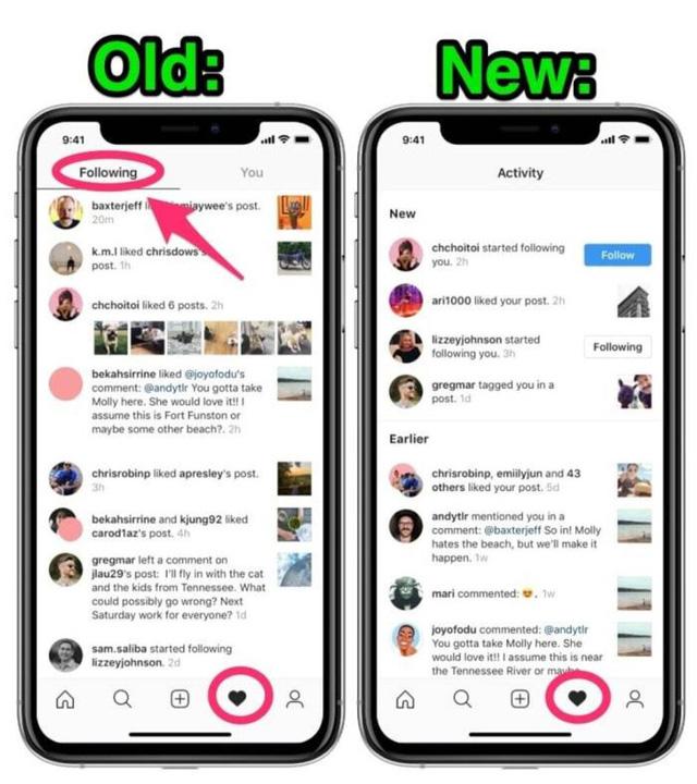 Instagram khai tử tính năng theo dõi hoạt động của bạn bè - Ảnh 1.