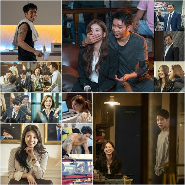 Suzy và Lee Seung Gi cùng tỏa sáng trên phim trường - Ảnh 1.