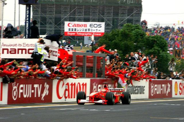 Đua xe F1: Nhìn lại chức VĐTG đầu tiên của Schumacher với Ferrari - Ảnh 2.