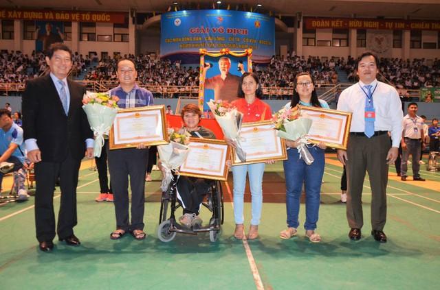 Khai mạc Giải vô địch các môn bóng bàn, cầu lông, cử tạ, cờ vua, Boccia người khuyết tật toàn quốc năm 2019 - Ảnh 3.