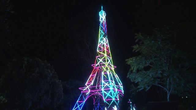 Lễ hội ánh sáng lần đầu xuất hiện tại Đà Lạt - Ảnh 7.