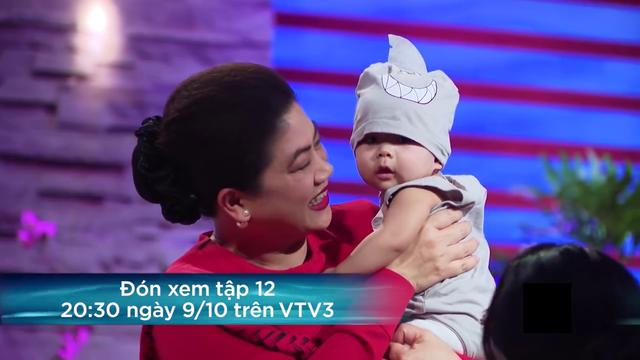 Shark Tank Việt Nam - Tập 12: Nữ startup bế 2 con nhỏ lên gọi vốn - Ảnh 3.