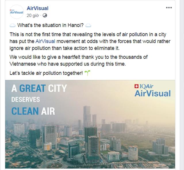 AirVisual bất ngờ mở lại ứng dụng tại Việt Nam - Ảnh 1.