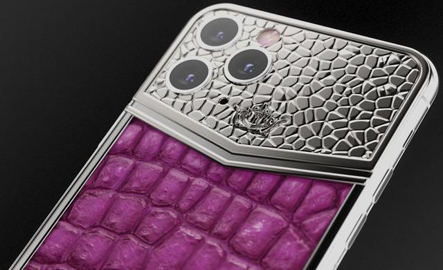iPhone 11 Pro độ thêm vàng và kim cương, được bán với giá gần 1 tỷ đồng - Ảnh 5.