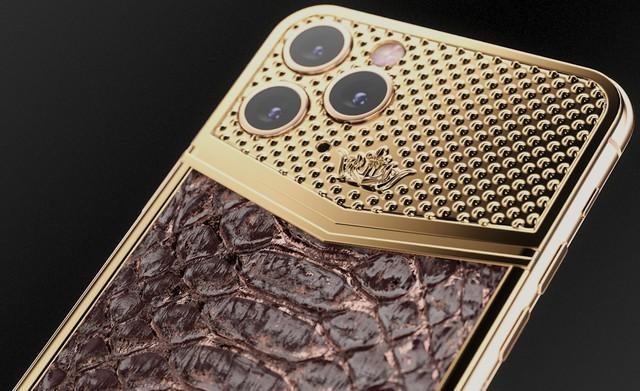 iPhone 11 Pro độ thêm vàng và kim cương, được bán với giá gần 1 tỷ đồng - Ảnh 7.