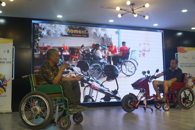 Top 9 giải pháp sáng tạo hàng đầu tăng khả năng tiếp cận cho người khuyết tật Việt - Ảnh 1.