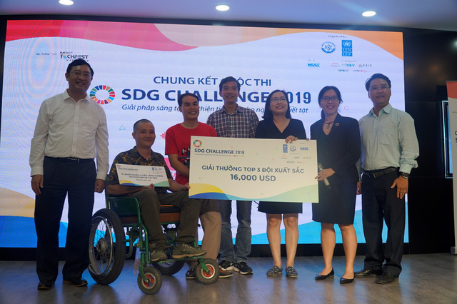 Chung kết SDG Challenge 2019: Tìm ý tưởng cải thiện khả năng tiếp cận cho người khuyết tật Việt - Ảnh 1.