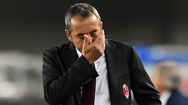 CHÍNH THỨC: AC Milan sa thải HLV Giampaolo chỉ sau 7 trận dẫn dắt - Ảnh 1.