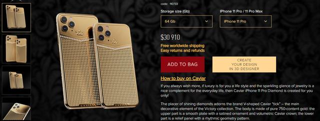 iPhone 11 Pro độ thêm vàng và kim cương, được bán với giá gần 1 tỷ đồng - Ảnh 3.