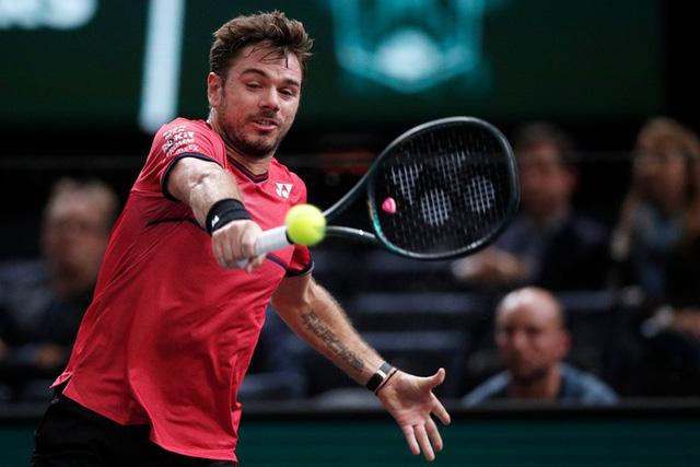 Paris Masters 2019: Nadal vượt qua Wawrinka tại vòng 3 - Ảnh 2.