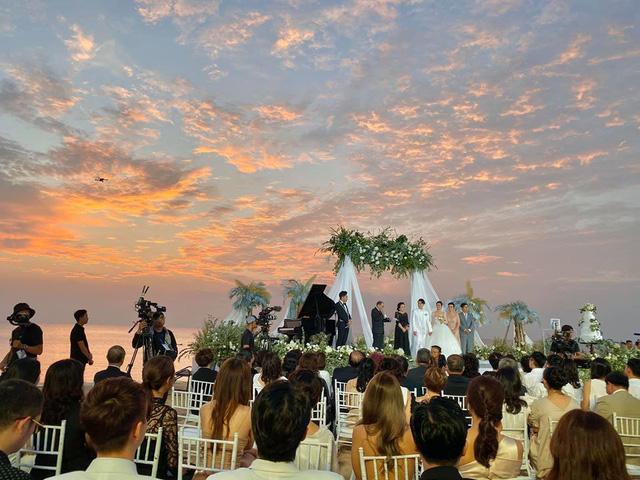 Dàn sao Việt nô nức dự lễ cưới Đông Nhi, Ông Cao Thắng - ảnh 7