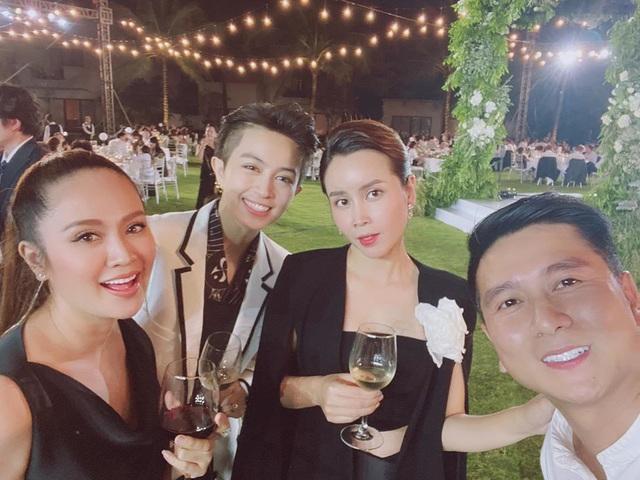 Dàn sao Việt nô nức dự lễ cưới Đông Nhi, Ông Cao Thắng - ảnh 4