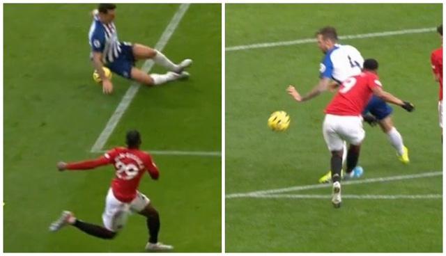 VAR và trọng tài đã cuỗm mất 2 tình huống penalty của Man Utd? - Ảnh 1.