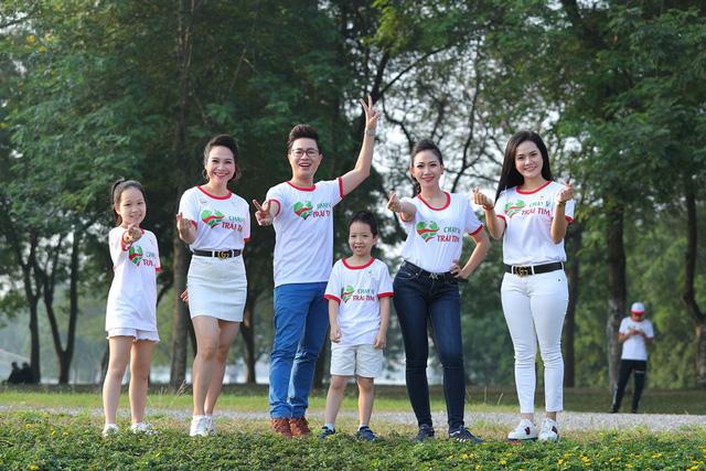 Lương Nguyệt Anh, MC Mỹ Vân chạy ủng hộ trẻ em bị bệnh tim - Ảnh 5.